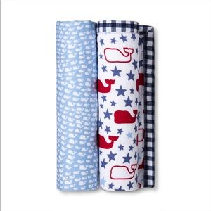 2-pack Swaddles - School of Whales/Stars & Whales